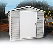 Steel Utility Sheds